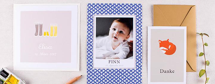 geburtskarten babykarten karten zur geburt gestalten. Black Bedroom Furniture Sets. Home Design Ideas