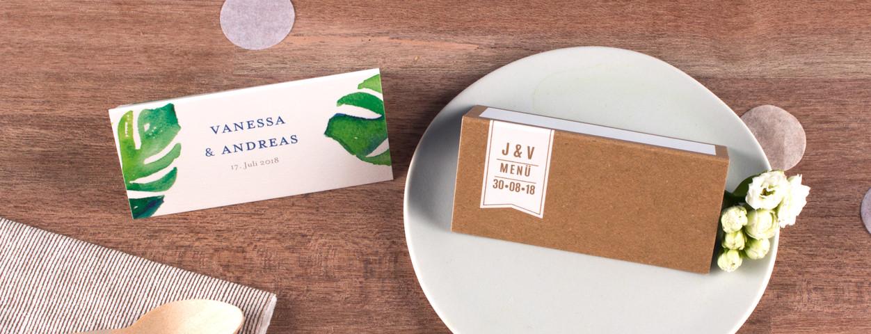 Tischkarten Hochzeit Hochzeitskarten