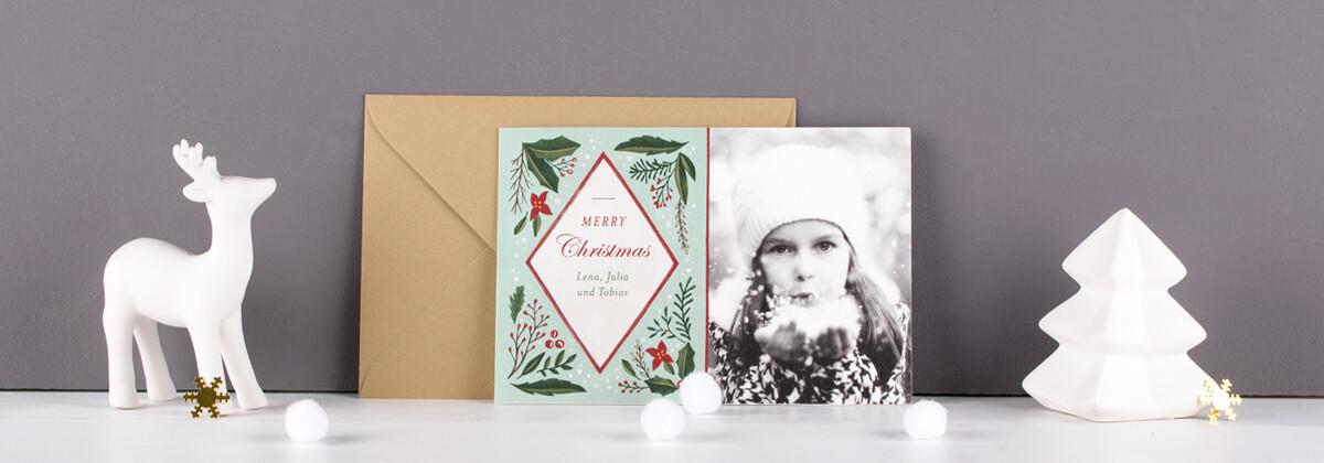Persönliche Weihnachtskarten Foto.Weihnachtskarten Neujahrskarten