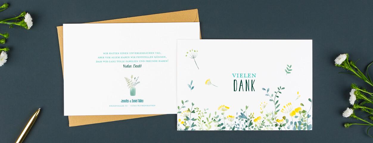 Karte Silberhochzeit Text.Textideen Fur Ihre Dankeskarten Hochzeit